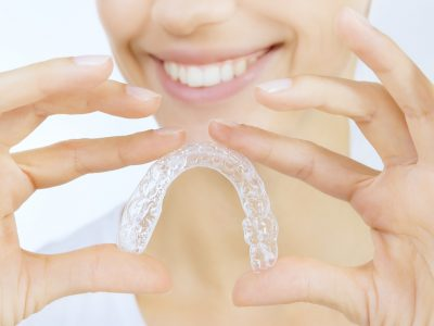 Transparente Zahnschienen