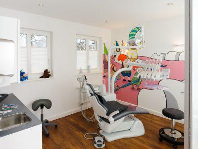 Die Oldenburger Zahnärzte - Behandlungsräume für Kinder